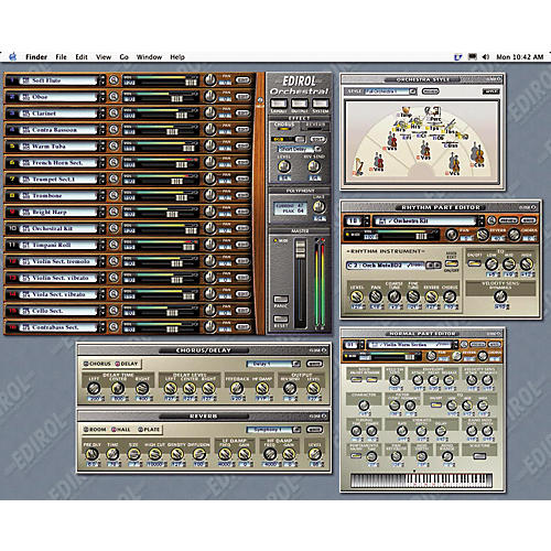 Edirol HQ-OR Orchestral Software Synth