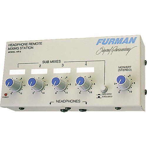Furman HR-6 Personal Headphone Mixer
