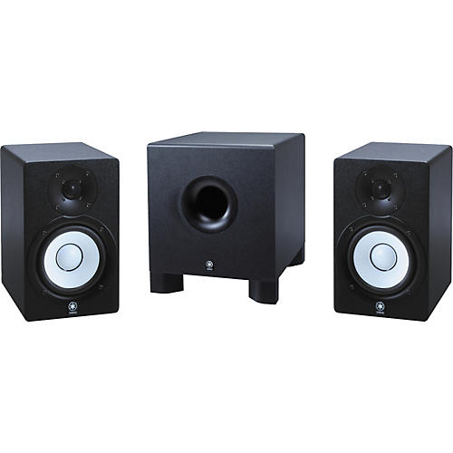Yamaha HS-50M/HS-10W 2.1 Powered Monitor Package