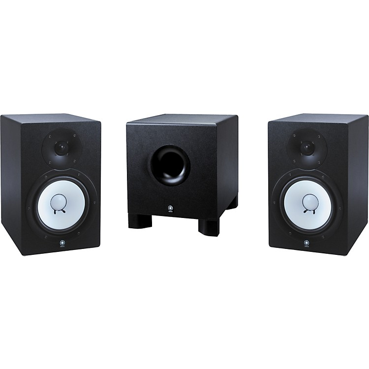 YamahaHS-80M/HS-10W 2.1 Powered Monitor Package
