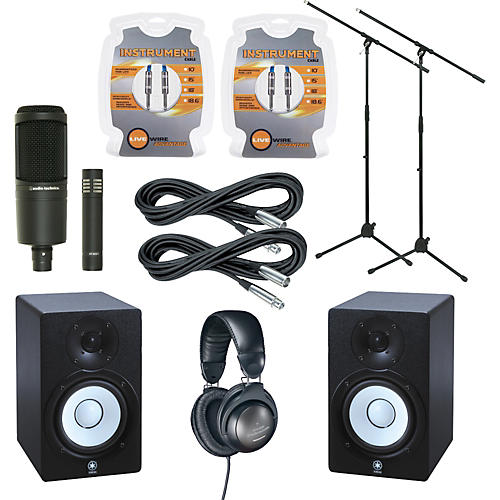 Yamaha hs50m monitor and a t mic package musician 39 s friend for Yamaha hs50m review