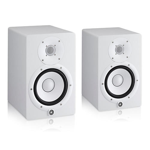 Yamaha HS7 White Powered Studio Monitor Pair-thumbnail