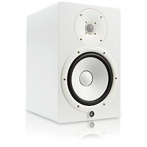 Yamaha hs8 w powered studio monitor white musician 39 s friend for Yamaha hs8 price