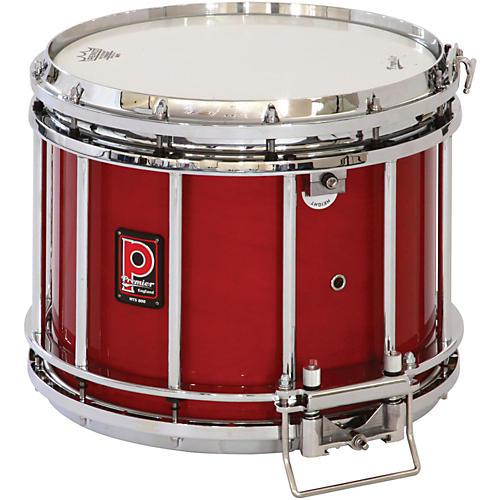 Premier HTS 800 Snare Drum w/ Diamond Chrome Hardware 14x12 Inch Ebony Black Lacquer