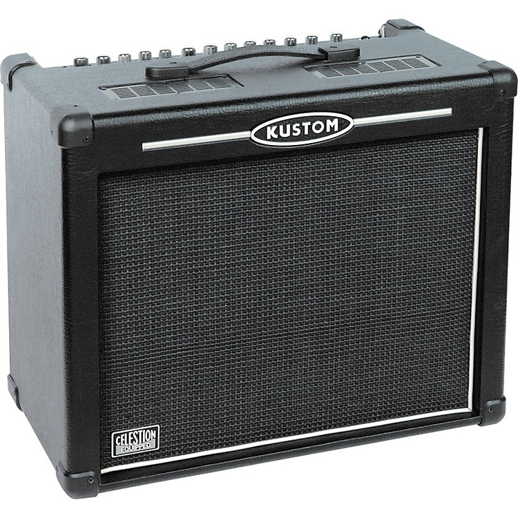 kustom hv65 high voltage series 65w 1x12 guitar combo amp musician 39 s friend. Black Bedroom Furniture Sets. Home Design Ideas