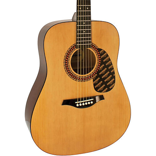 Hohner HW220 Dreadnought Guitar Natural