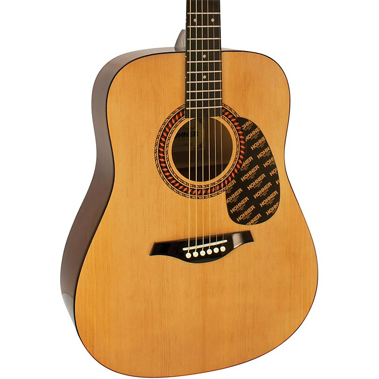 Hohner HW220 Dreadnought Guitar Natural