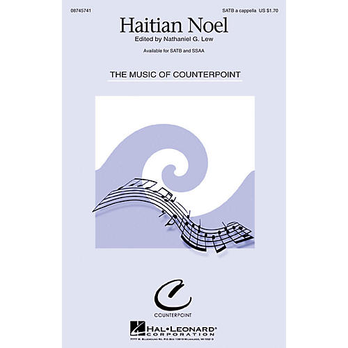 Hal Leonard Haitian Noel SSAA A Cappella-thumbnail