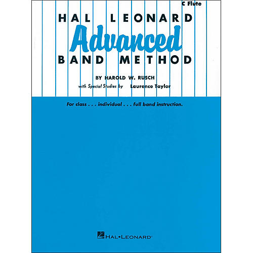 Hal Leonard Hal Leonard Advanced Band Method - C Flute
