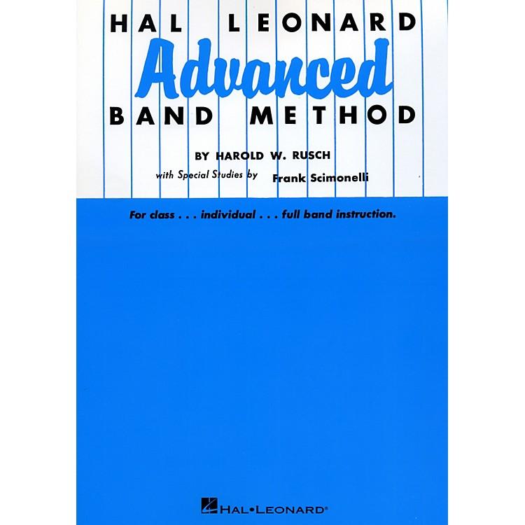 Hal LeonardHal Leonard Advanced Band Method B Flat Cornet & Trumpet