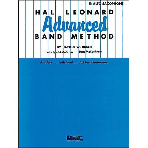 Hal Leonard Hal Leonard Advanced Band Method -E Flat Alto Saxophone