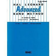 Hal Leonard Hal Leonard Advanced Band Method (E-flat Alto Clarinet) Advanced Band Method Series by Harold W. Rusch