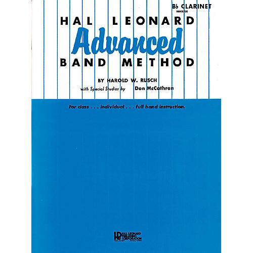 Hal Leonard Hal Leonard Advanced Band Method (French Horn in F) Advanced Band Method Series by Harold W. Rusch-thumbnail