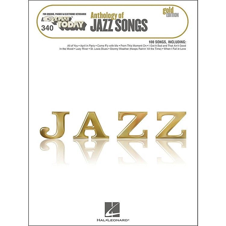 Hal Leonard Hal Leonard Anthology Of Jazz Songs - Gold Edition E-Z Play 340