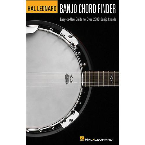 Hal Leonard Hal Leonard Banjo Chord Finder 6X9 Size