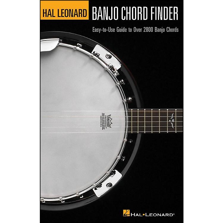 Hal LeonardHal Leonard Banjo Chord Finder 6X9 Size