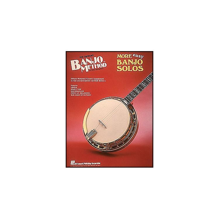Hal LeonardHal Leonard Banjo Method More Easy Banjo Solos
