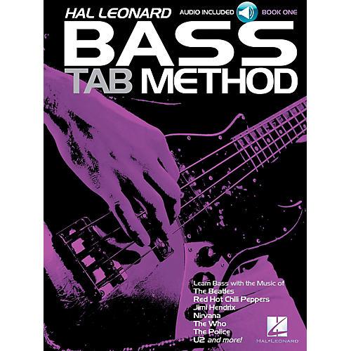 Hal Leonard Hal Leonard Bass Tab Method Book 1 Book/CD