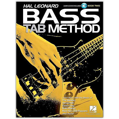 Hal Leonard Hal Leonard Bass Tab Method Book 2- Book/Online Audio-thumbnail