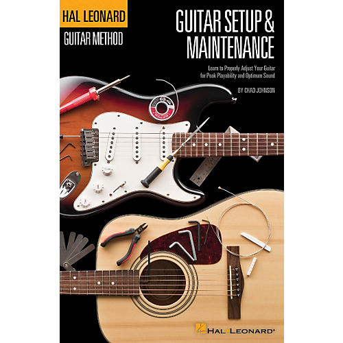 Hal Leonard Hal Leonard Guitar Method - Guitar Setup & Maintenance in Full Color