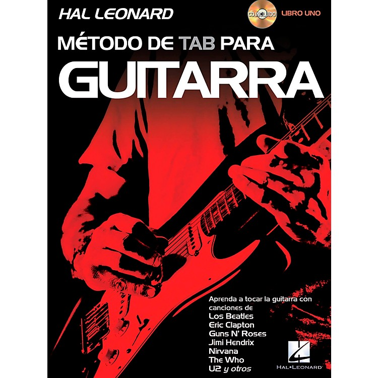 Hal Leonard Hal Leonard Guitar Tab Method Book 1 Book/CD (Spanish Edition)
