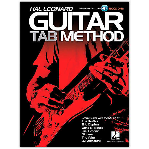 Hal Leonard Hal Leonard Guitar Tab Method Book 1 Book/CD