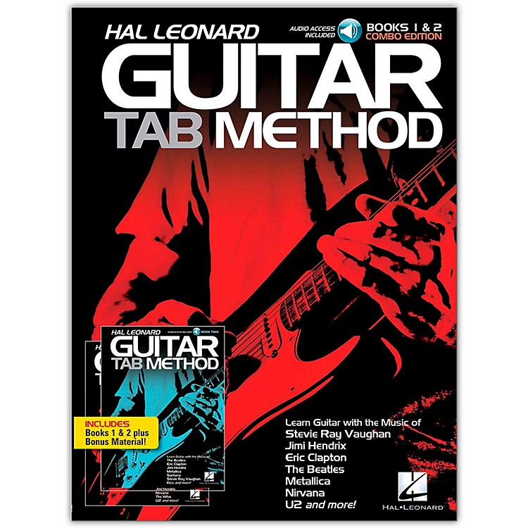 Hal Leonard Hal Leonard Guitar Tab Method Books 1 & 2 Combo Edition Book/2CD Pack