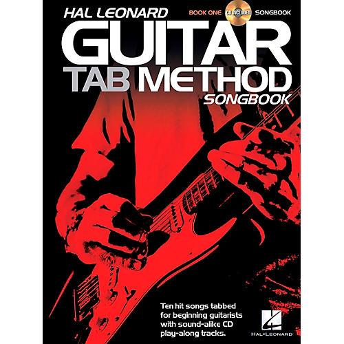 Hal Leonard Hal Leonard Guitar Tab Method Songbook 1 Book/CD