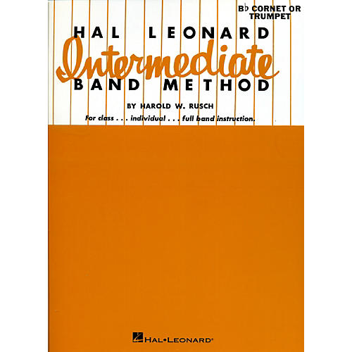 Hal Leonard Hal Leonard Intermediate Band Method Bb Cornet Or Trumpet