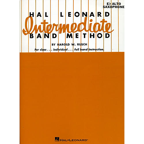 Hal Leonard Hal Leonard Intermediate Band Method E Flat Alto Saxophone