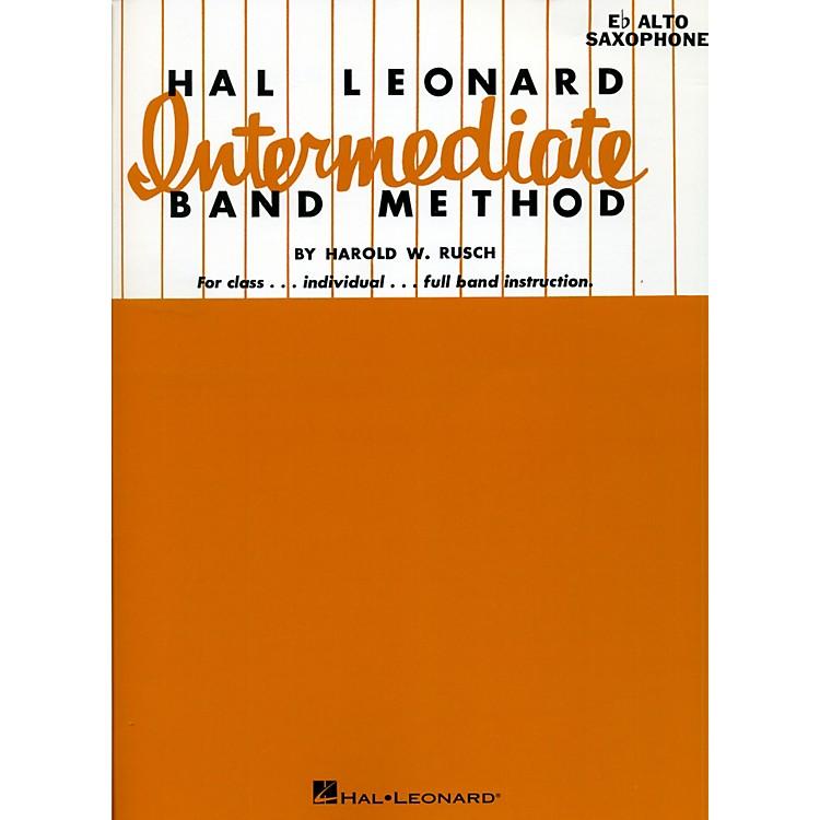 Hal LeonardHal Leonard Intermediate Band Method E Flat Alto Saxophone