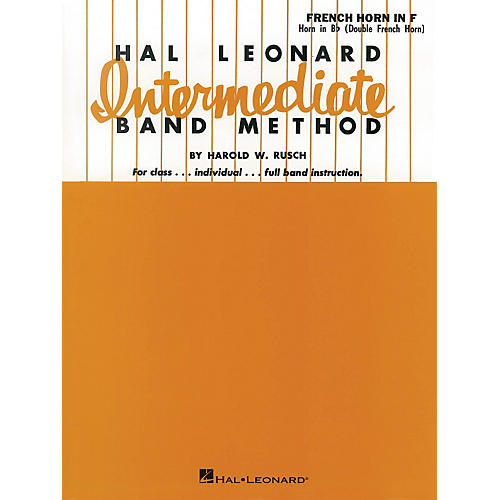 Hal Leonard Hal Leonard Intermediate Band Method French Horn In F