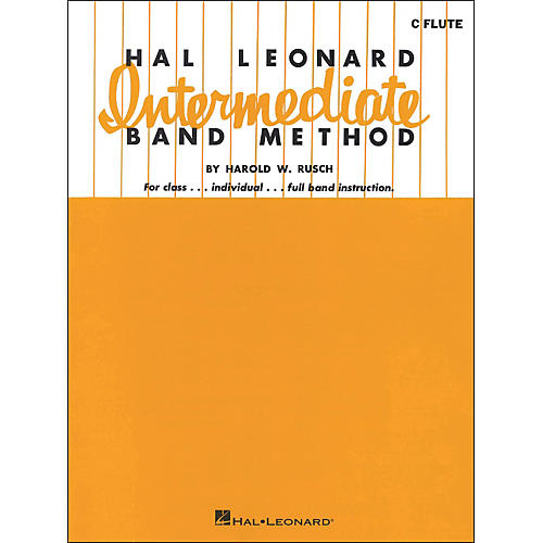 Hal Leonard Hal Leonard Intermediate Band Method for C Flute