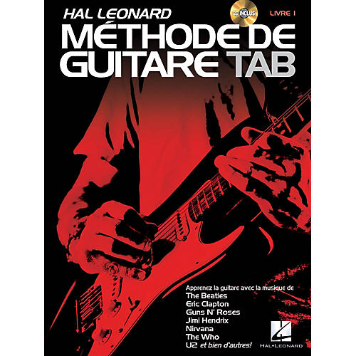 Hal Leonard Hal Leonard Méthode de Guitare Tab Guitar Tab Method Series Softcover with CD Written by Jeff Schroedl-thumbnail