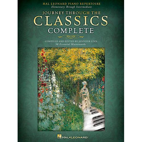 Hal Leonard Hal Leonard Piano Repertoire-Journey Through The Classics Complete