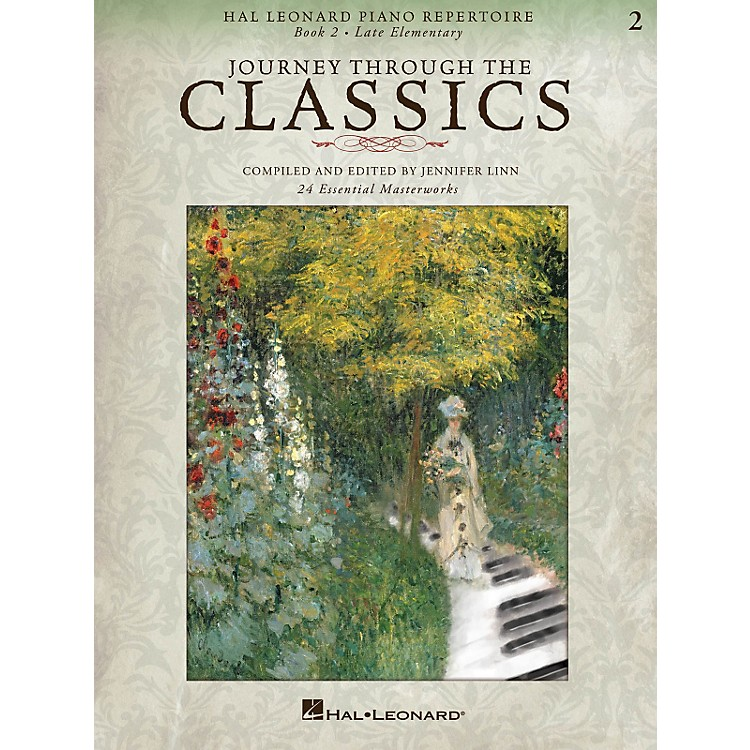 Hal Leonard Hal Leonard Piano Repertoire Series - Journey Through The Classics Book 2 Late Elementary