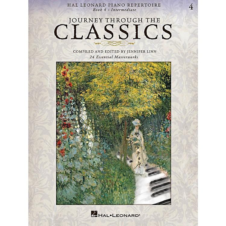 Hal LeonardHal Leonard Piano Repertoire Series - Journey Through The Classics Book 4 Intermediate Level