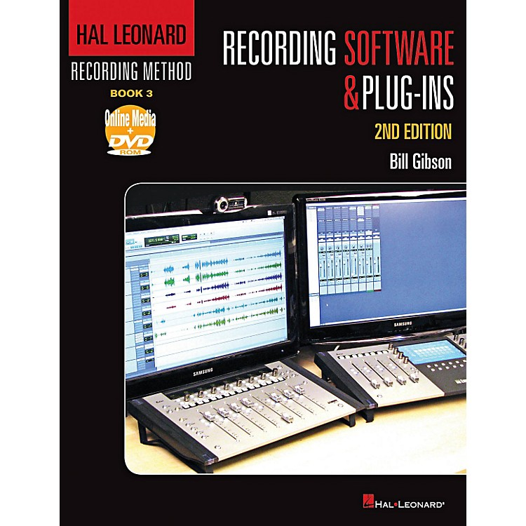 Hal Leonard Hal Leonard Recording Method - Book 3: Recording Software & Plug-ins - 2nd Edition Book/DVD-ROM