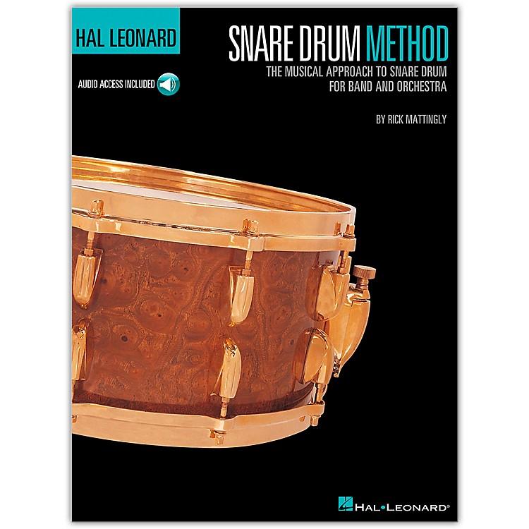 Hal LeonardHal Leonard Snare Drum Method Book/CD