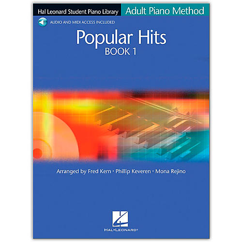 Hal Leonard Hal Leonard Student Piano Library Adult Piano Method Popular Hits 1 Book/CD Pkg