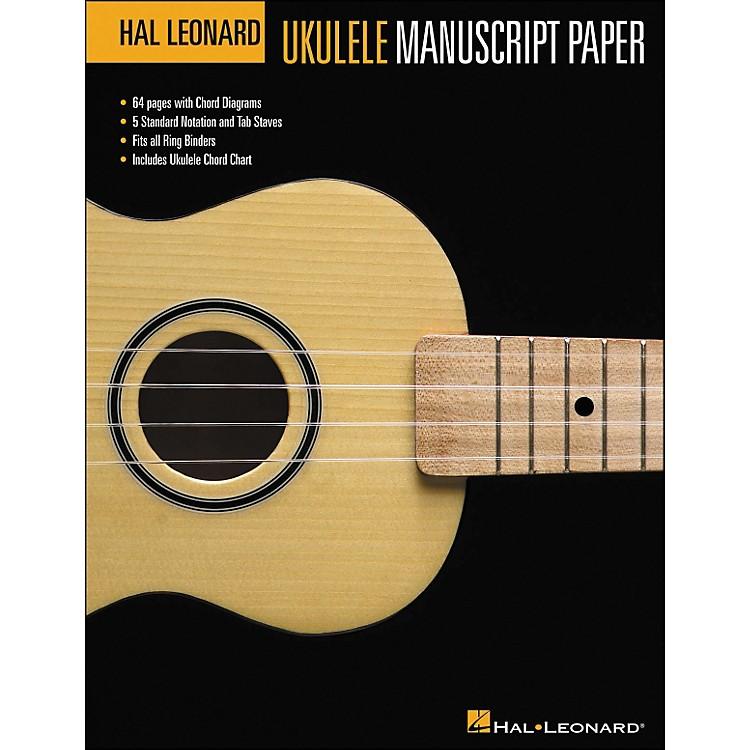 Hal LeonardHal Leonard Ukulele Manuscript Paper (8.5 X 11) Book