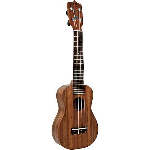 Lanikai Haleiwa Hawaiian-Made Solid Koa Soprano Ukulele-thumbnail