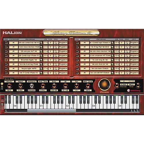 Steinberg Halion String Edition 2