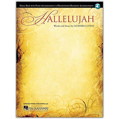 Hal Leonard Hallelujah - Vocal Solo With CD