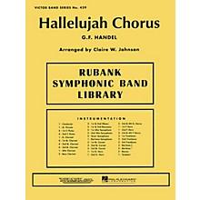 Rubank Publications Hallelujah Chorus Concert Band Level 3-4 Arranged by Clair W. Johnson