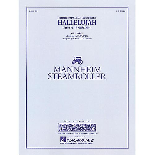 Hal Leonard Hallelujah Concert Band Level 3-4 by Mannheim Steamroller Arranged by Chip Davis-thumbnail