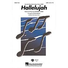 Hal Leonard Hallelujah SATB arranged by Roger Emerson