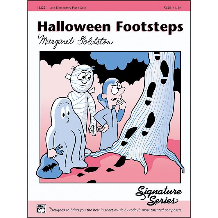 AlfredHalloween Footsteps