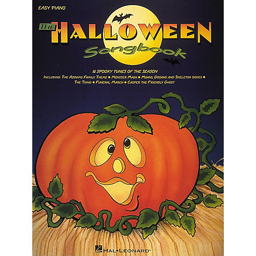 Hal Leonard Halloween Songbook For Easy Piano