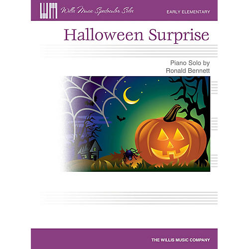 Willis Music Halloween Surprise (Early Elem Level) Willis Series by Ronald Bennett-thumbnail